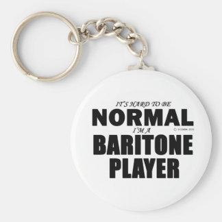 Jugador normal del barítono llaveros