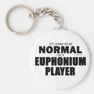 Jugador normal del Euphonium Llaveros