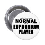 Jugador normal del Euphonium Pin