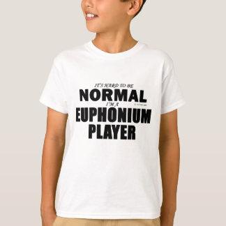Jugador normal del Euphonium Playera