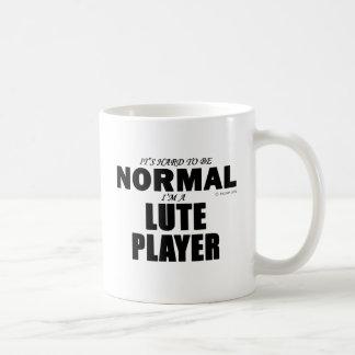 Jugador normal del laúd taza clásica