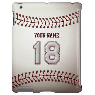 Jugador número 18 - mirada fresca de las puntadas  funda para iPad