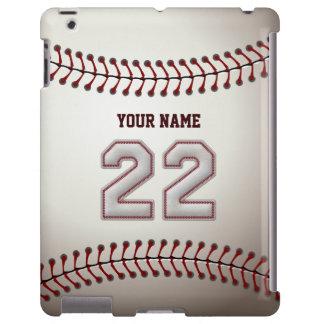 Jugador número 22 - mirada fresca de las puntadas  funda para iPad