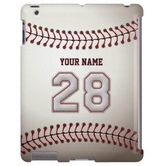 Jugador número 28 - mirada fresca de las puntadas funda para iPad