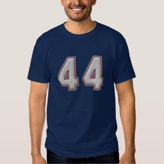 Jugador número 44 - puntadas frescas del béisbol playera