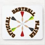 Jugador oficial de Dartball Alfombrilla De Raton