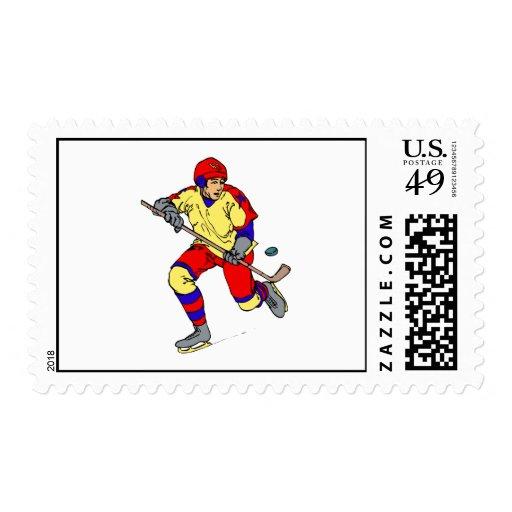 Jugador que patina con el duende malicioso envio