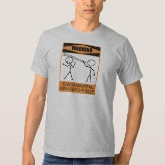 Jugador temperamental amonestador de Didgeridoo Camisas