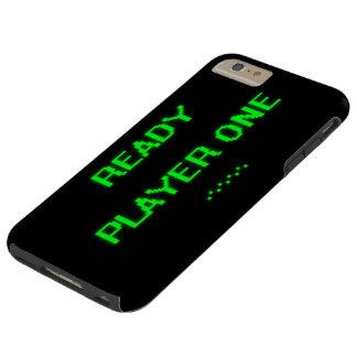 Jugador uno de ProductReady del personalizar Funda De iPhone 6 Plus Tough