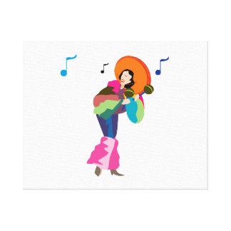 jugador up png vestido hembra del maraca lona envuelta para galerías