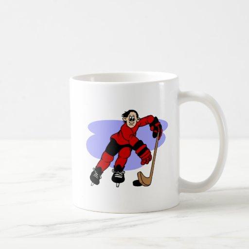 Jugador zurdo tazas de café