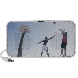 Jugadores de básquet 3 iPod altavoces