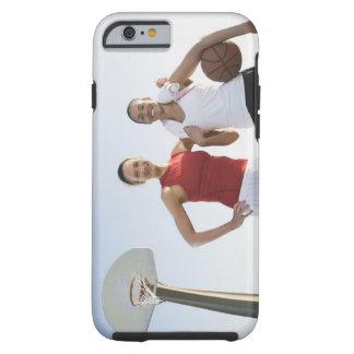 Jugadores de básquet 4 funda de iPhone 6 tough