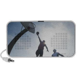 Jugadores de básquet 5 mini altavoz
