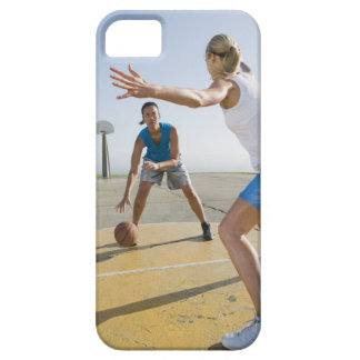 Jugadores de básquet 6 iPhone 5 Case-Mate cárcasa