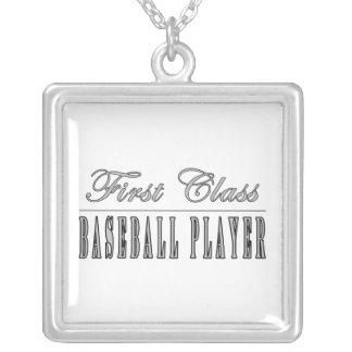 Jugadores de béisbol: Jugador de béisbol de la pri Collar Personalizado