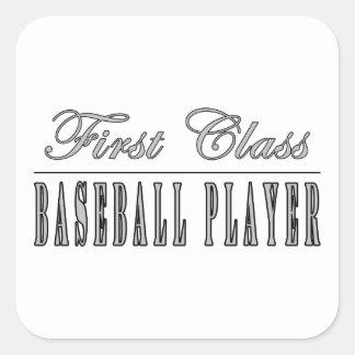 Jugadores de béisbol Jugador de béisbol de la pri Pegatina