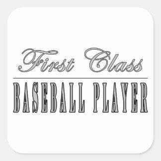 Jugadores de béisbol Jugador de béisbol de la pri Colcomanias Cuadradases