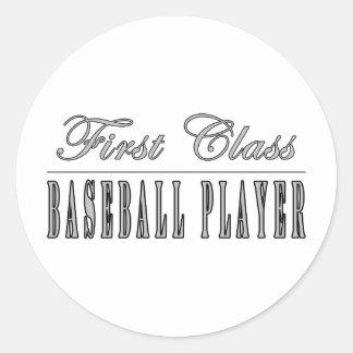 Jugadores de béisbol Jugador de béisbol de la pri Pegatinas