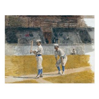 Jugadores de béisbol que practican - Thomas Eakins Tarjeta Postal