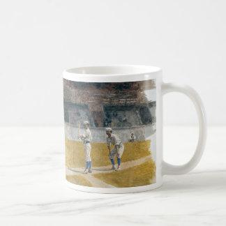 Jugadores de béisbol que practican - Thomas Eakins Tazas De Café