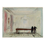 Jugadores de billar en la casa de Petworth, 1830 Tarjetas Postales