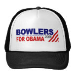 Jugadores de bolos para Obama Gorro De Camionero