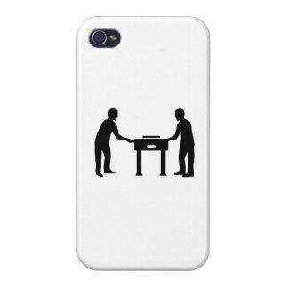 Jugadores de Foosball iPhone 4/4S Carcasas