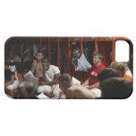 Jugadores de fútbol americano incluyendo los iPhone 5 carcasas