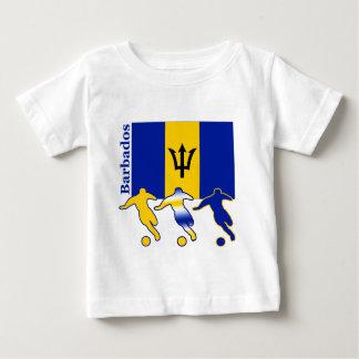Jugadores de fútbol - Barbados Remeras