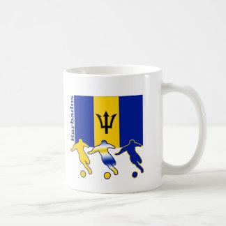 Jugadores de fútbol - Barbados Taza De Café