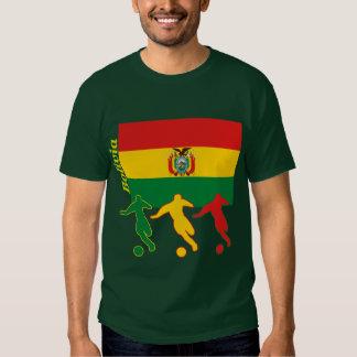 Jugadores de fútbol - Bolivia Remera
