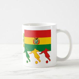 Jugadores de fútbol - Bolivia Taza De Café