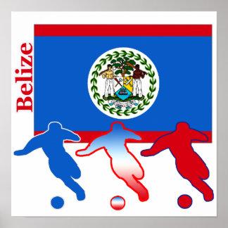 Jugadores de fútbol de Belice Póster