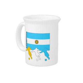 Jugadores de fútbol de la Argentina Jarra Para Bebida