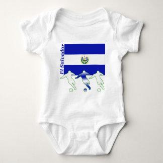 Jugadores de fútbol - El Salvador Playera