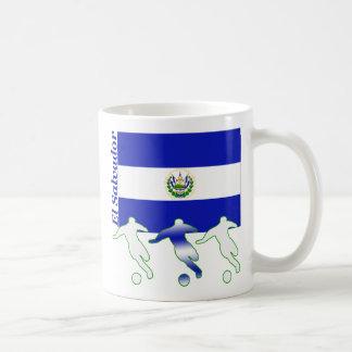 Jugadores de fútbol - El Salvador Taza De Café