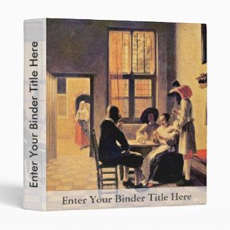 Jugadores de tarjeta de Hooch Pieter De (la mejor