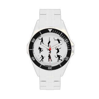 Jugadores de tenis relojes de pulsera