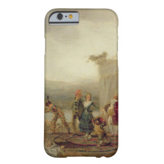 Jugadores que dan un paseo, 1793 (aceite en la funda barely there iPhone 6