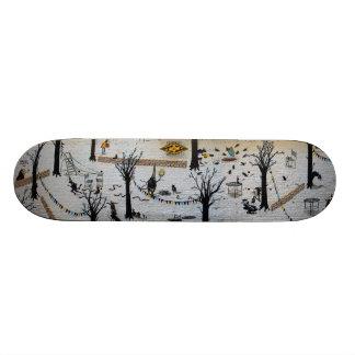 Jugando el gato y el ratón - arte de la pintada Sk Tablas De Patinar