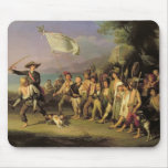 Jugando en los soldados, revolución romana 1848 alfombrillas de ratones