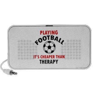jugar a fútbol altavoces de viaje