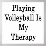Jugar a voleibol es mi terapia impresiones