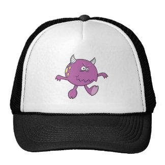 jugar al amigo púrpura duro del monstruo gorro