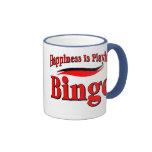 Jugar bingo tazas de café
