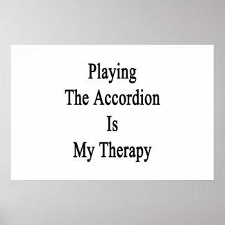Jugar el acordeón es mi terapia impresiones