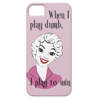 Jugar el caso mudo de Barely There del iPhone 5 iPhone 5 Carcasa