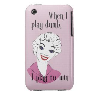 Jugar el caso mudo del iPhone 3G/3GS Barely There Case-Mate iPhone 3 Fundas