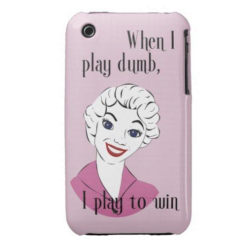 Jugar el caso mudo del iPhone 3G/3GS Barely There Funda Para iPhone 3 De Case-Mate